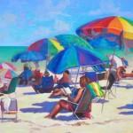 Patricia Sorg, Endless Summer, oil, 20 x 28.