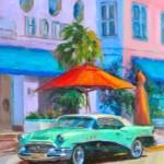 Patricia Sorg, Havana, oil, 14 x 18.
