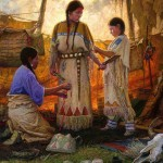Martin Grelle, Wedding Preparations, oil, 60 x 50.