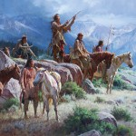 Martin Grelle, Prayers of the Pipe Carrier, oil, 58 x 66. Estimate: $200,000-300,000.