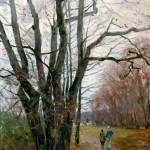 Aleksander Titovets, Autumn, oil, 40 x 30.