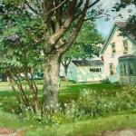 Aleksander Titovets, Early Summer, Camden, oil, 30 x 40.