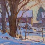 J. Chris Morel | Afternoon Light, oil, 11 x 14.
