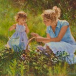 Amy Karnes, Summer Discoveries, oil, 20 x 24.