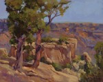 Ann Larsen, Canyon Ancients, oil, 16 x 20.