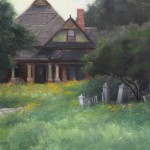 Anna Rose Bain, The Sullivan House, oil, 12 x 9.