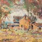 Rett Ashby, Beacon of Civility, oil, 20 x 30.