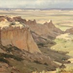 Clyde Aspevig, Pawnee Buttes, oil, 20 x 24. Estimated: $8,000-$10,000.