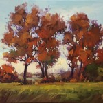 Gregory Stocks | Autumn Display, oil, 24 x 30.