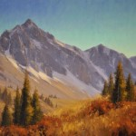 Autumn at Timberline, oil, 22 x 28.