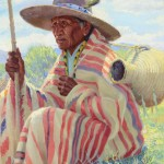 Henry Balink, Chief Trout, Pueblo Indian, oil, 30 x 25. Estimate: $40,000-$60,000.