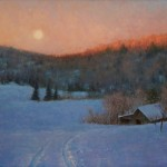 D. Eleinne Basa, Valley Moonrise, oil, 20 x 24.