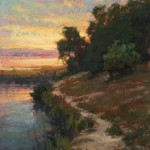 Kim Lordier, Bayland Glow, pastel, 20 x 16.