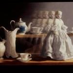 Deborah Bays, Animate and Inanimate, pastel, 24 x 36.