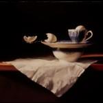 Deborah Bays, Balance, pastel, 18 x 24.