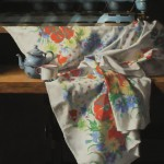 Deborah Bays, Laundry Day, pastel, 38 x 28.