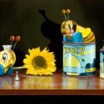 Bee My Honey, oil, 12 x 24.