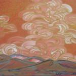 Jami Tobey, Better Times, acrylic, 20 x 20.