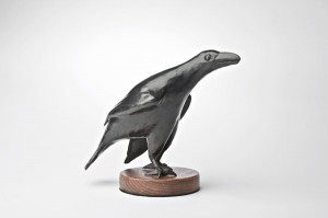 Michael Naranjo, Black Magic, bronze, 10 x 10 x 6.