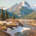 Lorenzo Chavez, Blue Sky Over Colorado | Pastel Plein-Air Painter