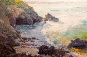 Gregory Packard, Bounty of the Pacific, oil, 40 x 60.