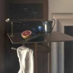 Destiny Bowman, A Grapefruit for Breakfast, oil, 30 x 26.