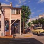 Brian Slawson, Summer Days, Boulder, oil, 18 x 24.