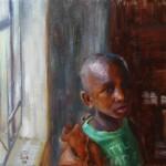 Samuel Enriquez, But Not Least, oil, 16 x 20.