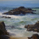 California Surf, oil, 10 x 12.