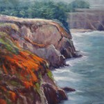 Carole Belliveau, A Slice of Big Sur, oil, 24 x 18.