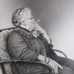 Tanja Gant, Carpe Diem, graphite, 8 x 10.
