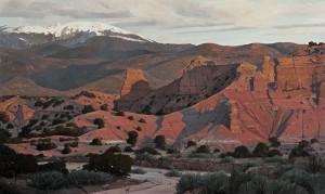 Arturo Chávez, Cuyamungue, oil, 48 x 80.