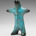 Rebecca Tobey, Chinook, bronze, 6 x 5 x 2.