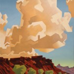 David Jonason, Clouds Over Lee's Ferry, 40 x 30.