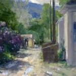 Cody Spring, oil, 10 x 12.