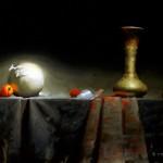 David Cheifetz, Companion, oil painting