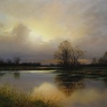 Renato Muccillo | Confluence at Dusk, 14 x 18.