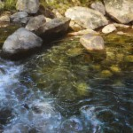 Brent Cotton, Crystal Clear, oil, 40 x 60.