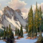 David Mayer, Return to the Wild, oil, 30 x 40.
