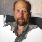 TJ Cunningham, Dad, oil, 24 x 18.