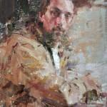 Carolyn Anderson | Dave, oil, 16 x 12.