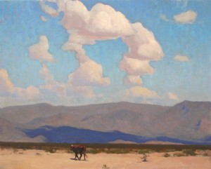 Glenn Dean, Desert Stray, oil, 24 x 30.