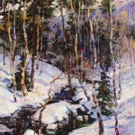 Robert Moore | Deep Winter, oil, 60 x 48.