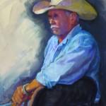 Marilyn Drake, Hacienda Honcho, pastel, 16 x 12.