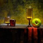 David Cheifetz, Duos, oil painting
