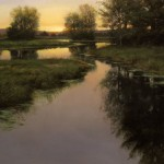Renato Muccillo | Evening Backwater, oil, 16 x 20.