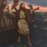 Mike Malm, Exercising Faith, oil, 40 x 30,