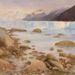 Face of the Glacier, oil, 25 x 30.