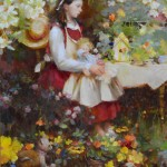 Nancy Guzik, Fairy Tales, oil, 18 x 14.