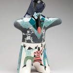 Rebecca Tobey, Fat Tuesday, ceramic, 16 x 11 x 5.